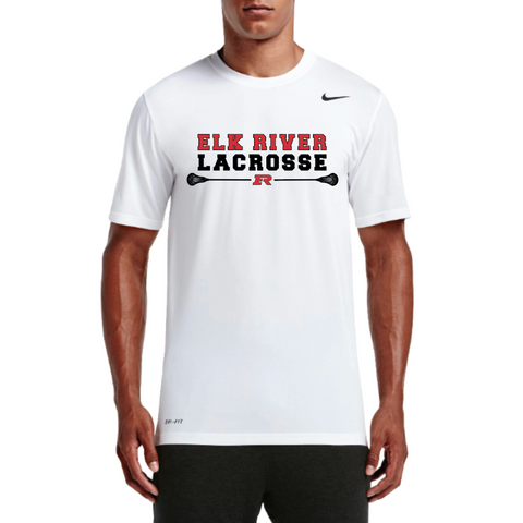 Elk River Lacrosse Men's Nike (Legend SS) - White
