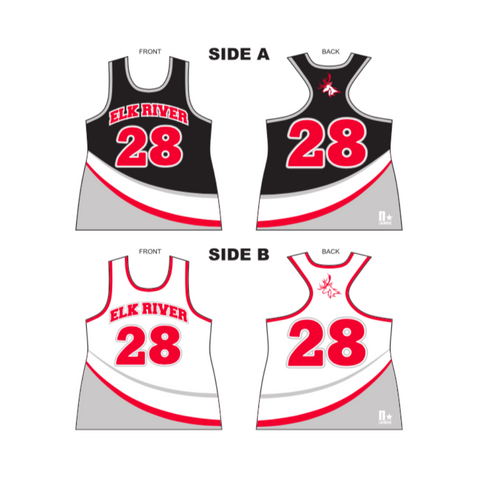 ***REQUIRED GIRLS*** ELK RIVER GIRLS UNIFORM REVERSIBLE TOP
