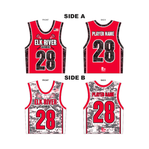 ***REQUIRED BOYS*** ELK RIVER BOYS UNIFORM REVERSIBLE TOP