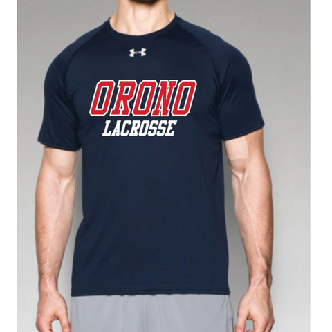 Orono Lacrosse Men's Under Armour (Locker T) Navy