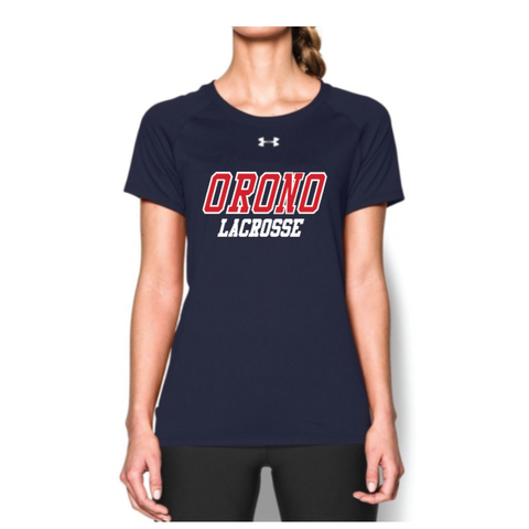 Orono Lacrosse Women's Under Armour (Locker SS) Navy