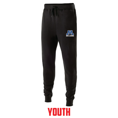 Minnetonka Lacrosse Youth Holloway (60/40 FLEECE JOGGER) Black