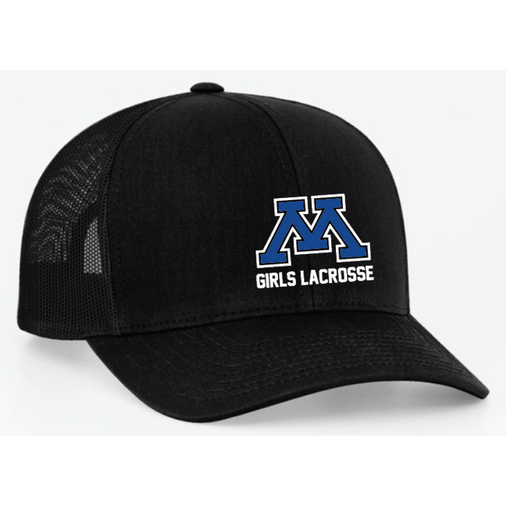 Minnetonka Lacrosse Pacific Headwear (TRUCKER MESH) Black