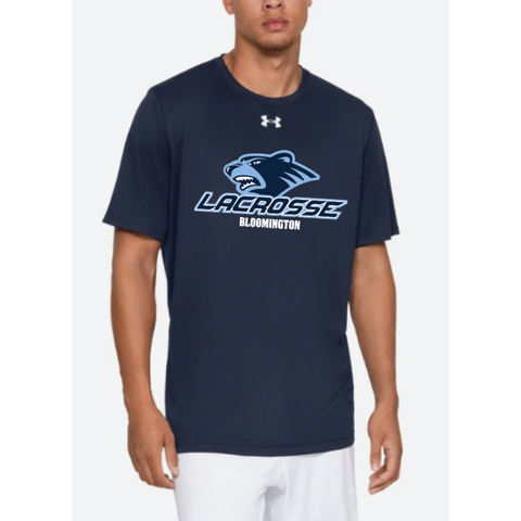 Bloomington Lacrosse Adult Under Armour (Locker Tee) Navy