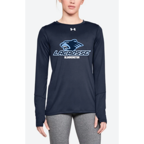 Bloomington Lacrosse Women's Under Armour (Locker LS 2.0) Navy