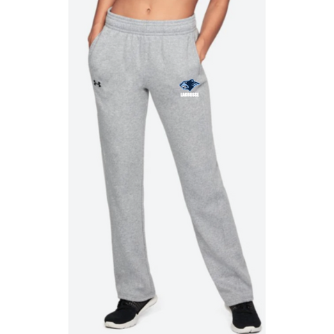 Bloomington Lacrosse Women's Under Armour (Hustle Fleece Pant) Gray