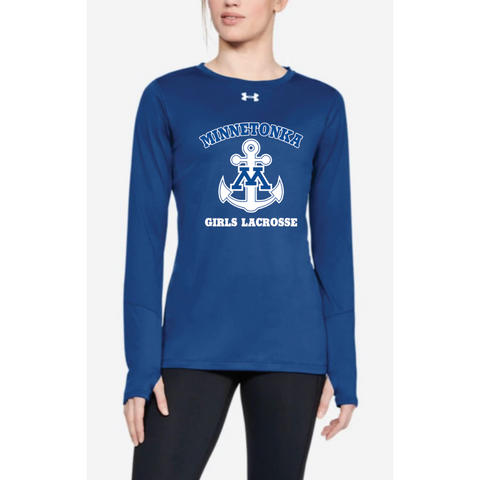Minnetonka Lacrosse Women's UA (Locker Tee LS 2.0) Royal