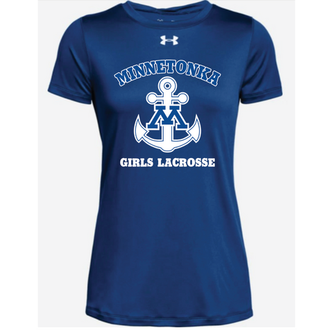 Minnetonka Lacrosse Women's UA (Locker Tee 2.0) Royal