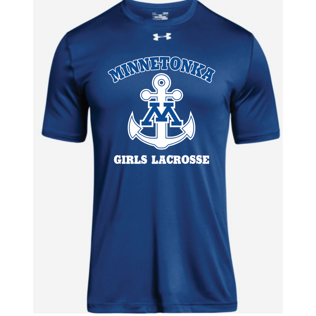 Minnetonka Lacrosse Men's UA (Locker Tee 2.0) Royal