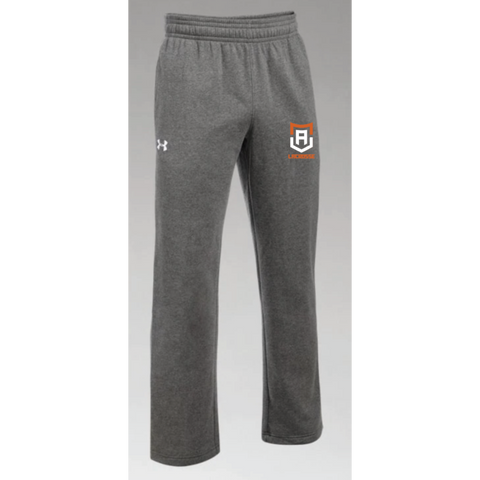 Alpha Lacrosse Men's Under Armour (Hustle Fleece Pant) Carbon Heather