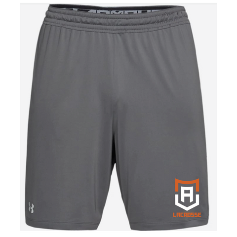 Alpha Lacrosse Men's Under Armour (Team Raid Short 2.0) Gray