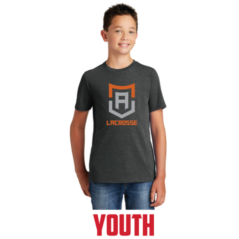 Alpha Lacrosse Youth District (Perfect Tri ® Tee) Black Frost