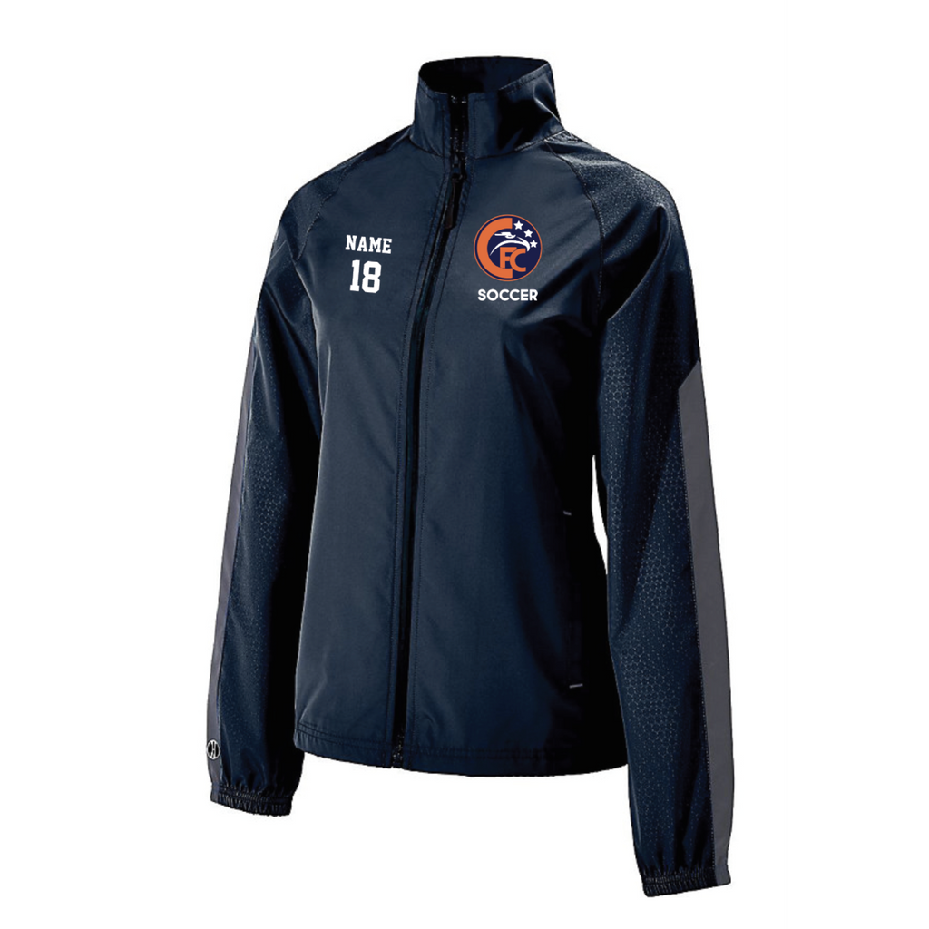 Cooper Soccer Women's Holloway (BIONIC JACKET) Navy