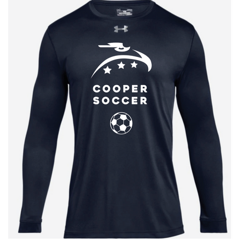 Cooper Soccer Adult Under Armour (Locker Tee 2.0 LS) Navy