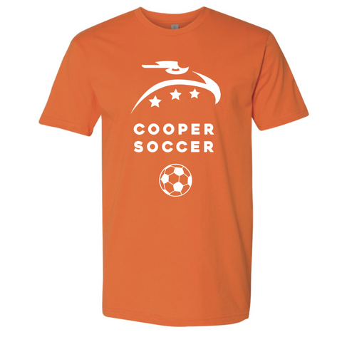 Cooper Soccer Adult Next Level (Premium SS Crew) Orange