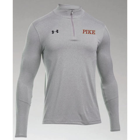 PIKE Men's Under Armour (Locker 1/4 Zip) Gray