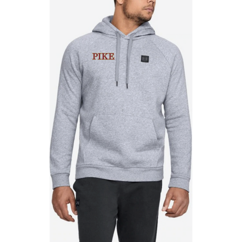 PIKE Men's Under Armour (RIVAL FLEECE PO HOODIE) Light Heather
