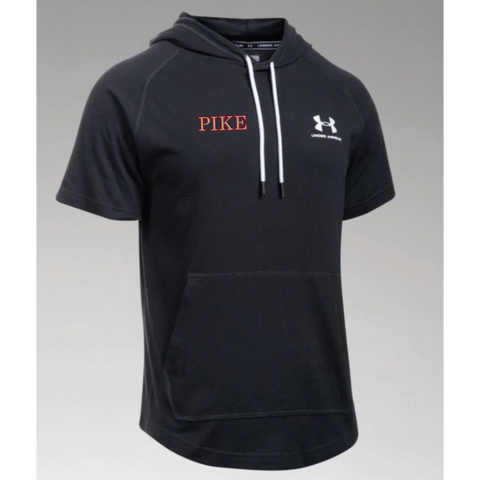 PIKE Men's Under Armour (Sportstyle S/S Hoodie) Black