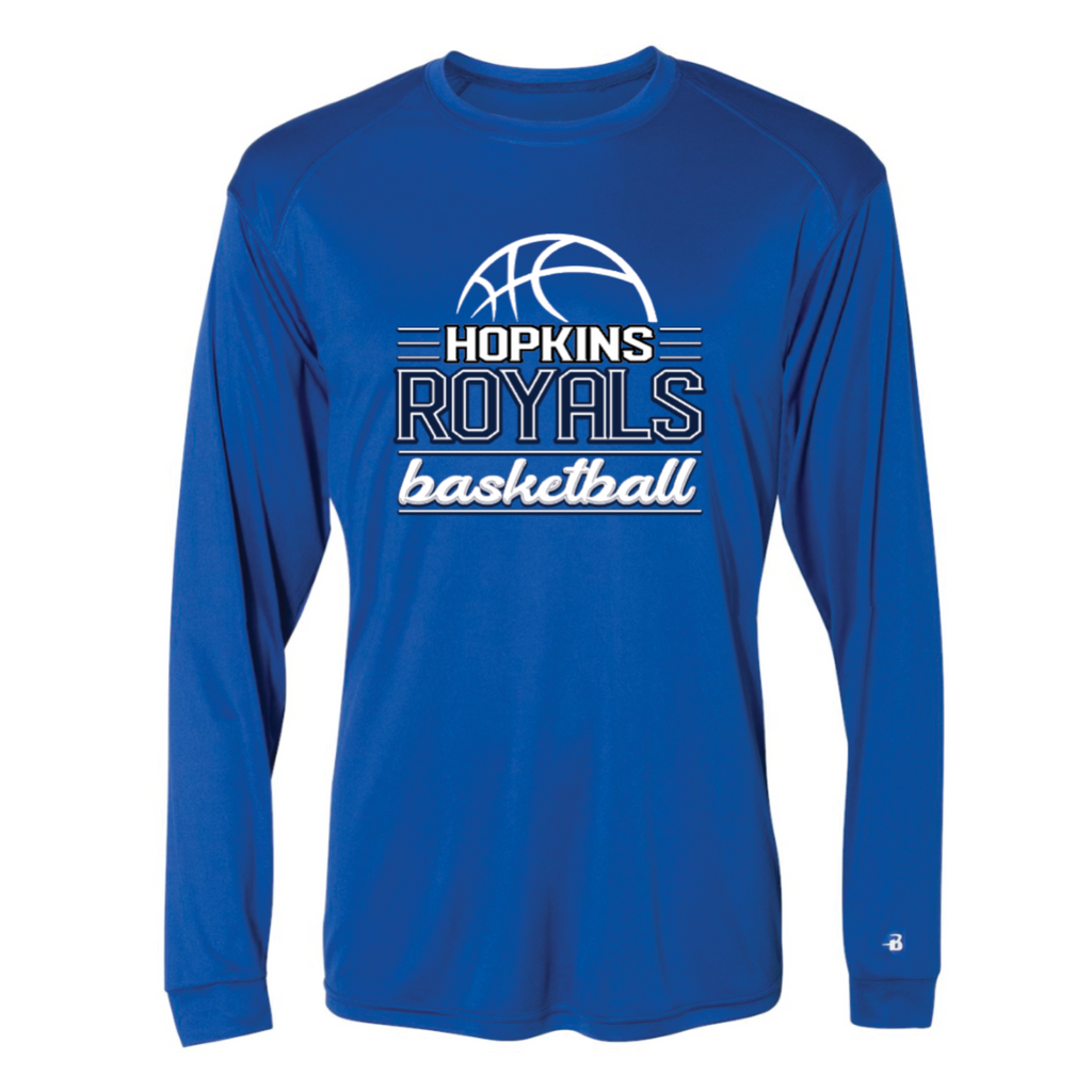 Hopkins Basketball Men's Badger (Ultimate SoftLock™ LS) Royal