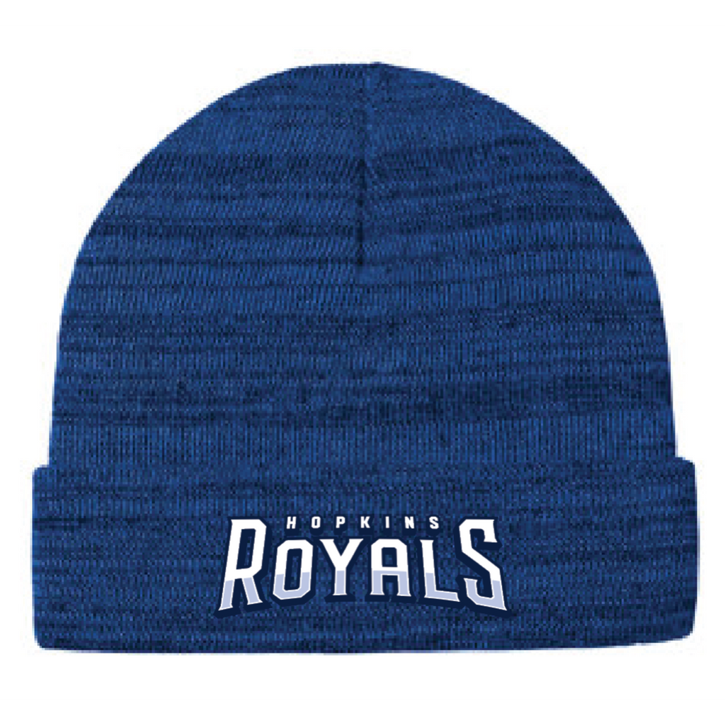 Hopkins Basketball Port Authority (Knit Cuff Beanie) Royal