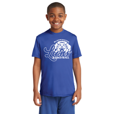 Bloomington Basketball Youth Sport-Tek (PosiCharge® Competitor) Royal