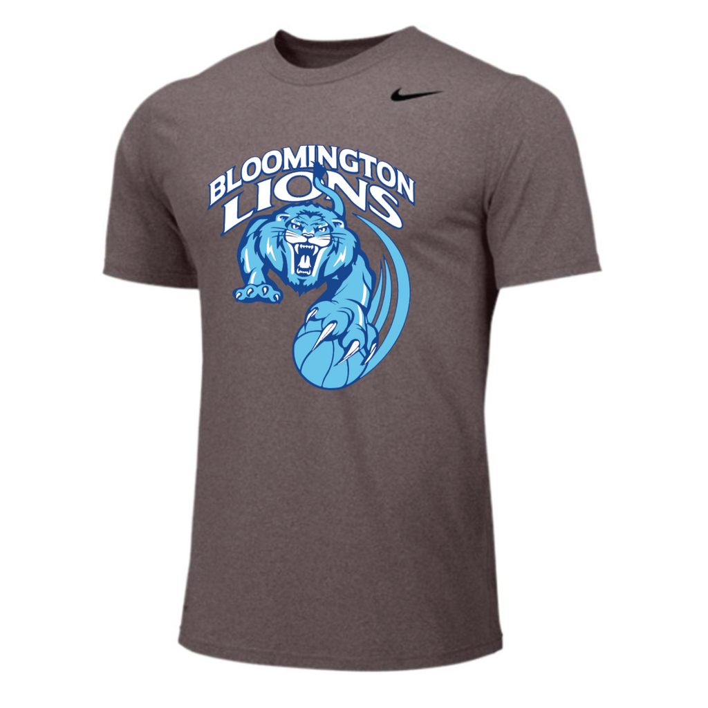 Bloomington Basketball Youth Nike (Legend Poly SS) Royal
