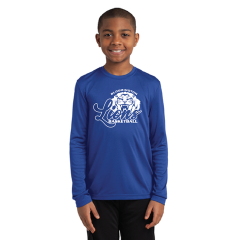 Bloomington Basketball Youth Sport-Tek (Long Sleeve PosiCharge® Competitor™ Tee) Carolina
