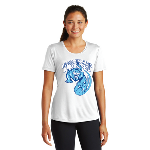 Bloomington Basketball Women's Sport-Tek (PosiCharge® Competitor™ Tee) White