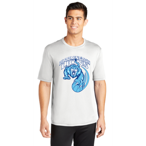 Bloomington Basketball Men's Sport-Tek (SS PosiCharge Competitor Tee) White