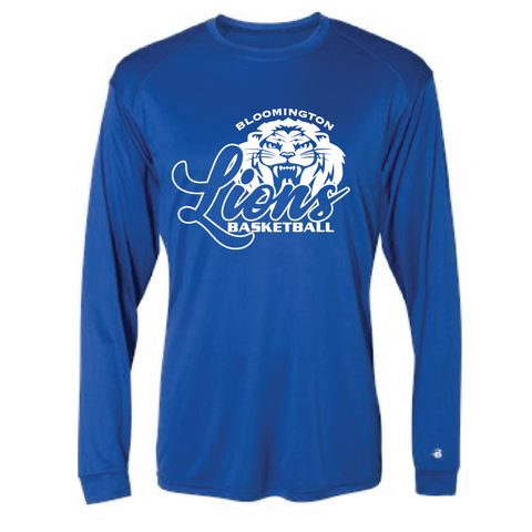 Bloomington Basketball Men's Badger (Ultimate SoftLock™ LS) Royal