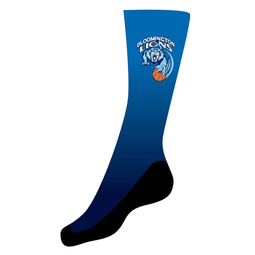 Bloomington Basketball Men's (Socks) Sublimated