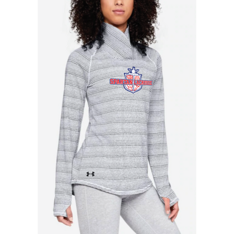 Simley Lacrosse Women's Under Armour (Zinger Pullover) Midnight Navy