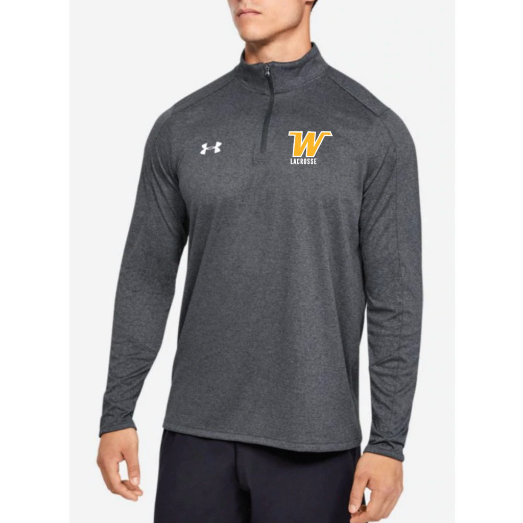 Wayzata Lacrosse Men's Under Armour (Locker 1/4 Zip) Carbon Heather