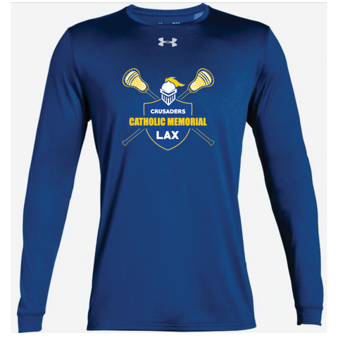 CMH Lacrosse Adult Under Armour (Locker Tee 2.0 LS) Royal