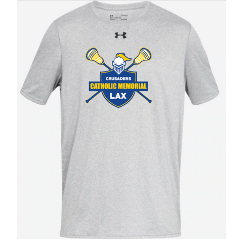 CMH Lacrosse Adult Under Armour (Locker Tee) Light Gray