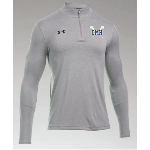 CMH Lacrosse Men's Under Armour (Locker 1/4 Zip) Gray