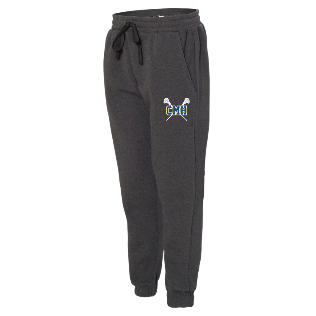 CMH Lacrosse Men's Burnside (Fleece Joggers ) Charcoal Heather