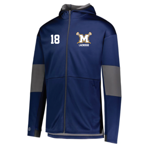 **REQUIRED**Mahtomedi Lacrosse Holloway (SOF-STRETCH JACKET) Navy