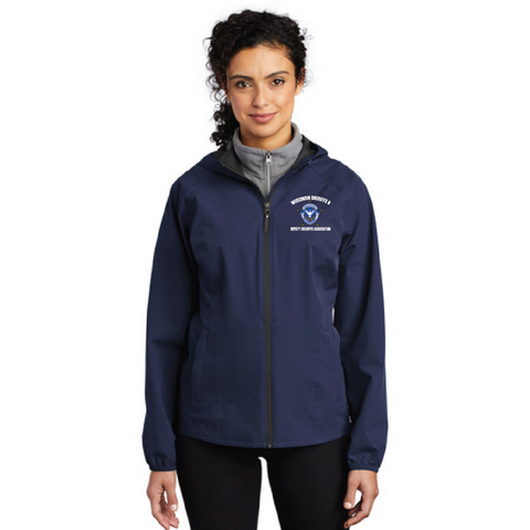 Wisconsin Sheriff Ladies Port Authority (Essential Rain Jacket) Navy