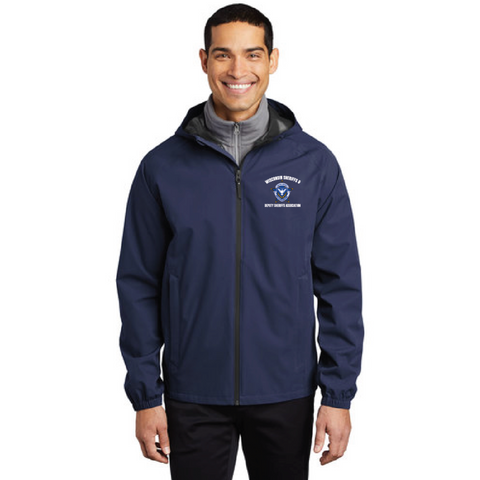 Wisconsin Sheriff Men's Port Authority (Essential Rain Jacket) Navy