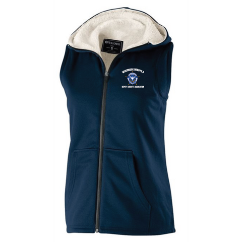 Wisconsin Sheriff WOMEN'S HOLLOWAY (ARTILLERY SHERPA VEST) Navy