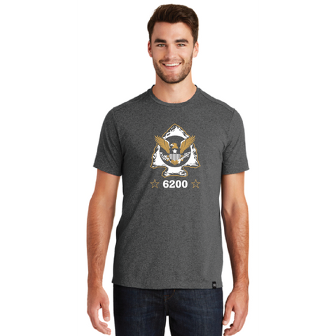 Minnetonka PD Men's New Era (Heritage Blend Crew Tee) Black Heather