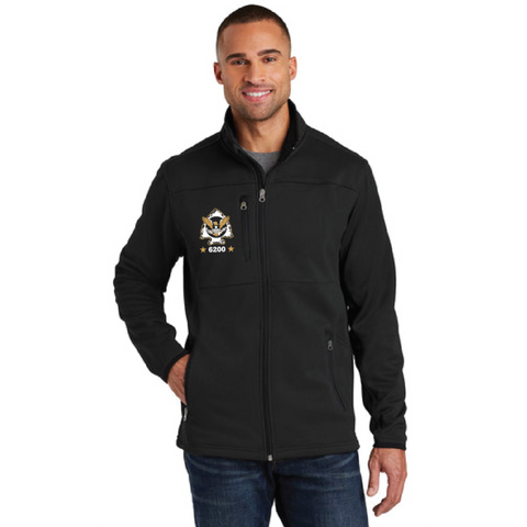 Minnetonka PD Men's Port Authority (Pique Fleece Jacket) Black