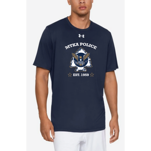 Minnetonka PD Adult Under Armour (Locker Tee) Royal