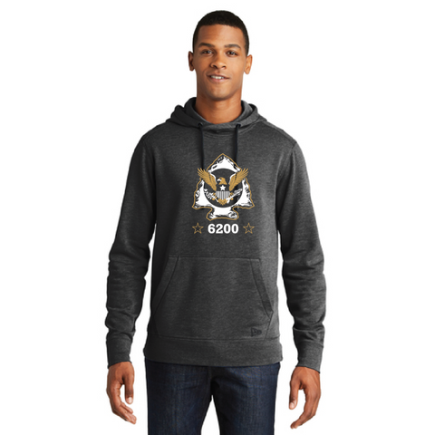 Minnetonka PD Men's New Era (Tri-Blend Fleece Pullover Hoodie) Heather Black