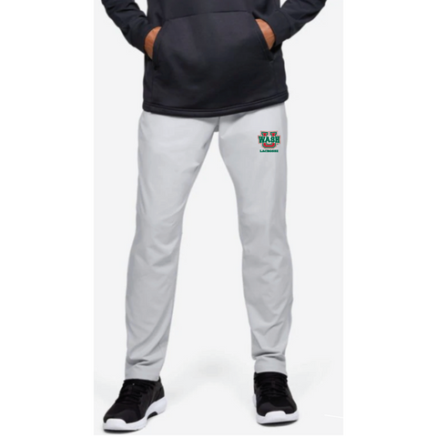 Wash U Lacrosse Under Armour (Squad Woven W-Up Pant) Halo Gray