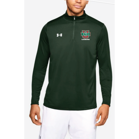Wash U Lacrosse Men's Under Armour (Locker 1/4 Zip) Forest Green