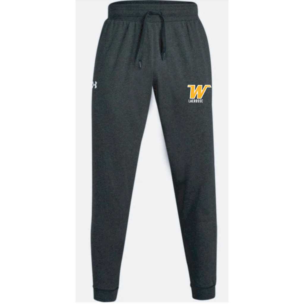 Wayzata Lacrosse Men's Under Armour (Hustle Fleece Jogger) Black