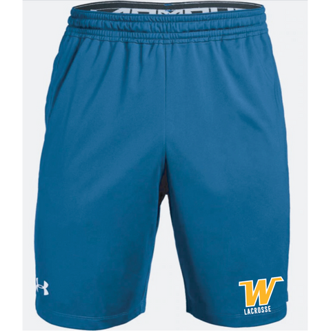 Wayzata Lacrosse Men's Under Armour (Pocketed Raid Short) Royal  **High School Recommended**
