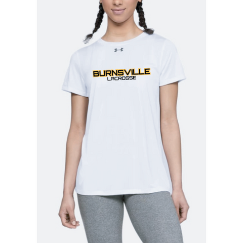 Burnsville Lacrosse Women's Under Armour (Locker Tee 2.0) White